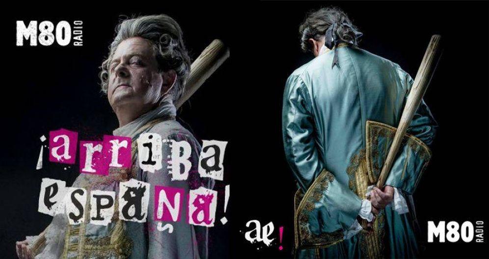Foto: Cartel promocional de 'Arriba España' de M80.