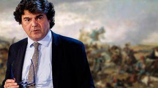 Jorge Moragas salva la ruptura catalanista con una pintura de Mariano Fortuny