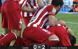 El Atlético pone el turbo ganador cuando entra en la 'zona Simeone'