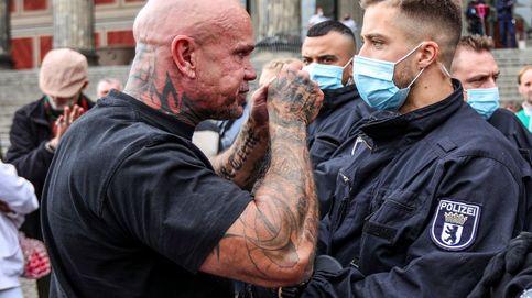 Heridos 18 policías en una protesta en Berlín contra las medidas de restricción