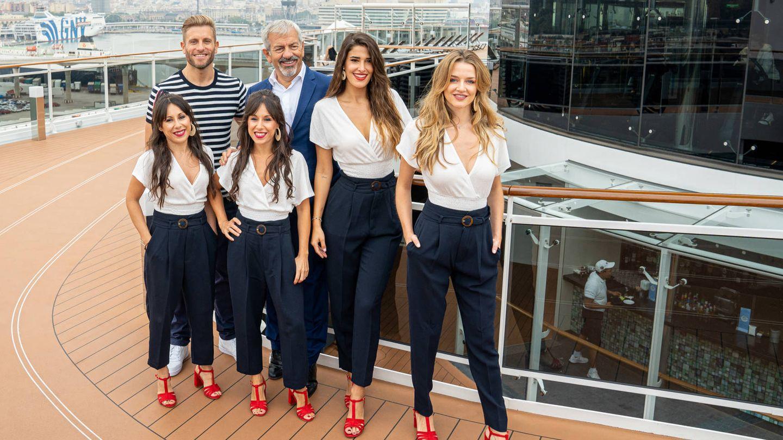 La tripulación de 'First dates: Crucero'. (Mediaset)