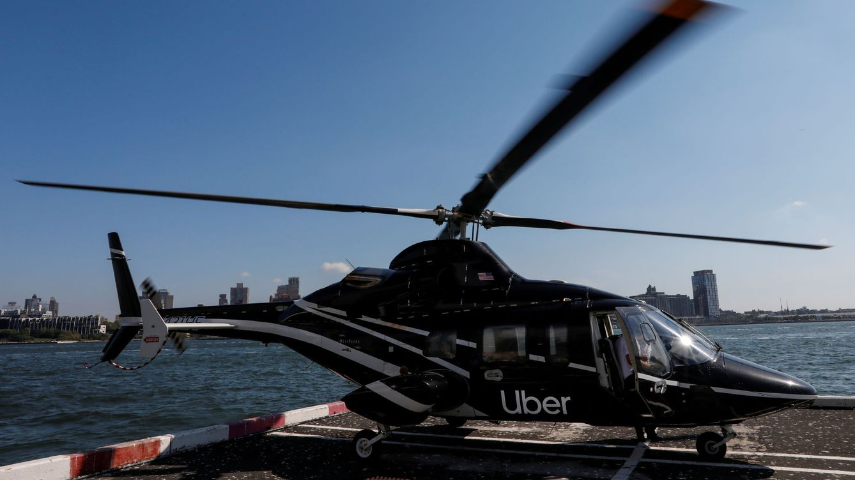 Foto: Un helicóptero operado por Uber Copter (Reuters)