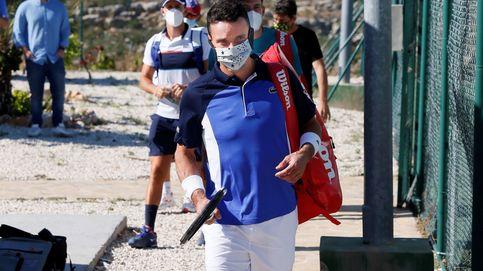 El tenis español regresa bajo el granizo: Ahora el aire y las piernas nos pesan más