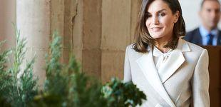 Post de Letizia vuelve al Palacio Real unas horas después de la cena de gala: este es su look