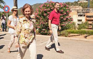 Los Borbón, comprometidos con los incendios de Mallorca