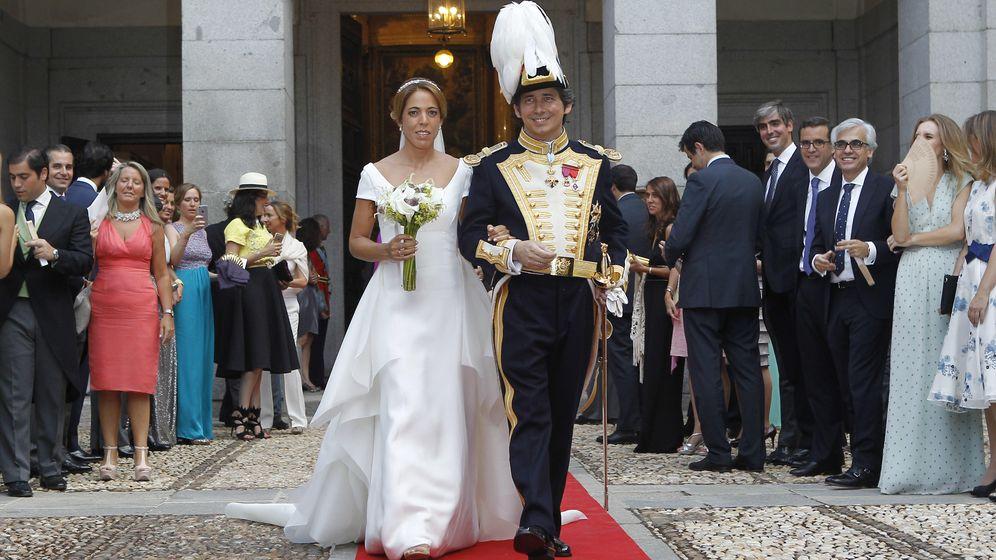 Foto: Boda de María Rosa Osorio y Bruno González-Barros