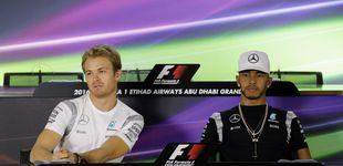 Post de Hamilton tira la piedra y esconde la mano, ¿hay conspiración en Mercedes?