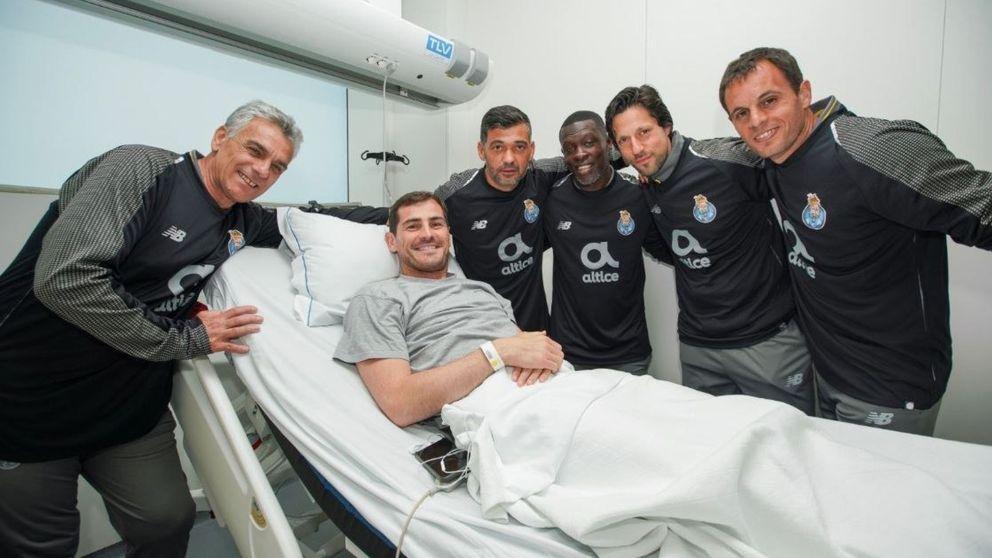 La tesitura del Oporto con Iker Casillas (en el fichaje de un portero)
