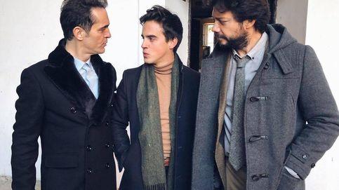 Gonzalo Caballero, como pez en el agua entre las estrellas de 'La casa de papel'