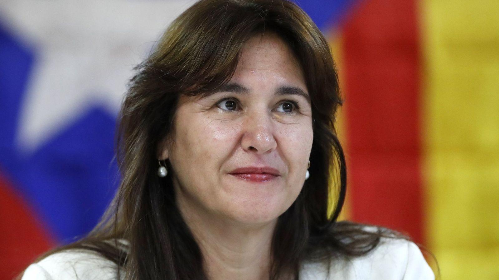 Foto: Laura Borràs, exdirectora del Institució de les Lletres Catalanes. (EFE)