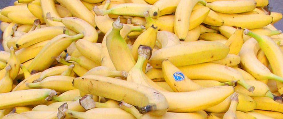 Foto: El plátano de Canarias llega por primera vez a Reino Unido