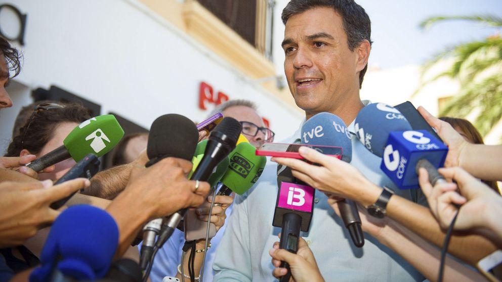 Sánchez eleva su 'no' a Rajoy: rechazará sus Presupuestos si forma Gobierno