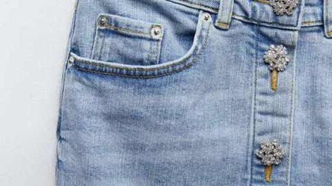 El conjunto de Zara que eleva al tejido vaquero a la categoría de joya