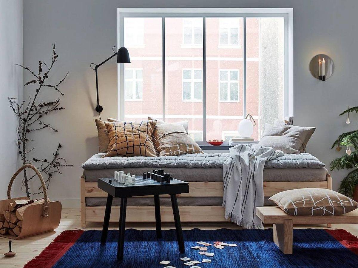 Foto: Tu casa será más confortable gracias a los cojines de Ikea. (Cortesía)