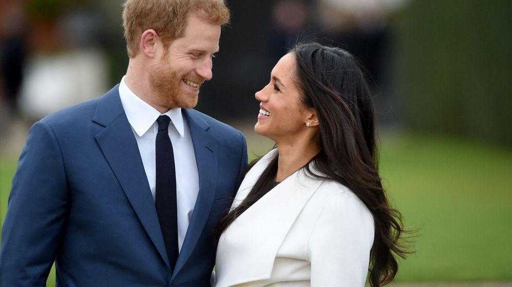 Foto: Meghan Markle y el príncipe Harry, cuando anunciaron su compromiso. (EFE)