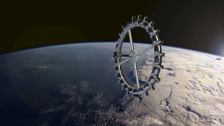 Planean comenzar a construir la estación espacial de '2001' en 2025