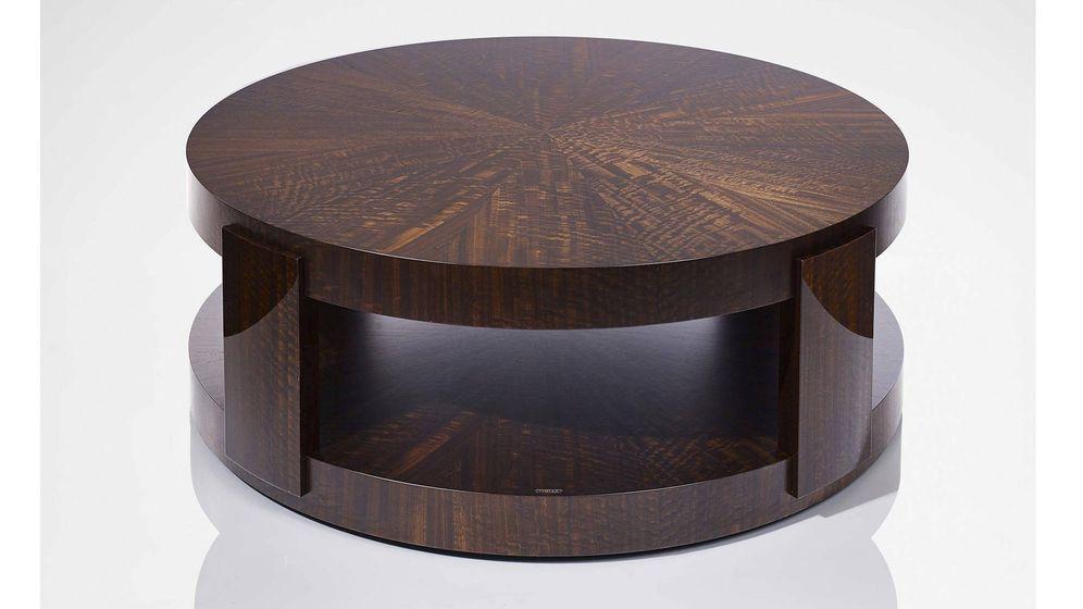 Foto: La mesa de centro 'Metro' se lanza como parte de la gama Linley Modern, una versión de lujo de la estética de principios del siglo XX.