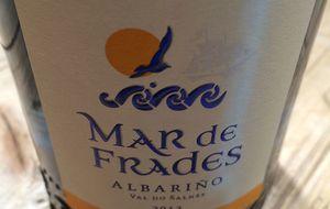 Mar de Frades 2013, selección de uva racimo a racimo