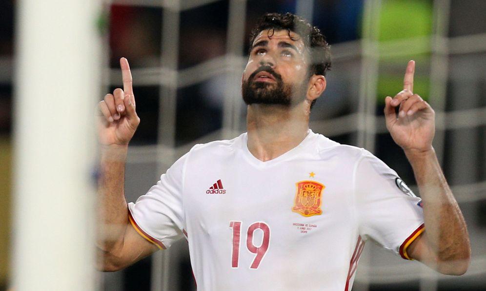 Foto: ¿Diego Costa ha perdido su sitio en la Selección? (Reuters)