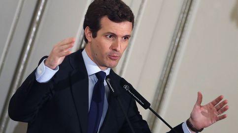 Casado acusa a Sánchez de prácticas mafiosas por su uso de las instituciones