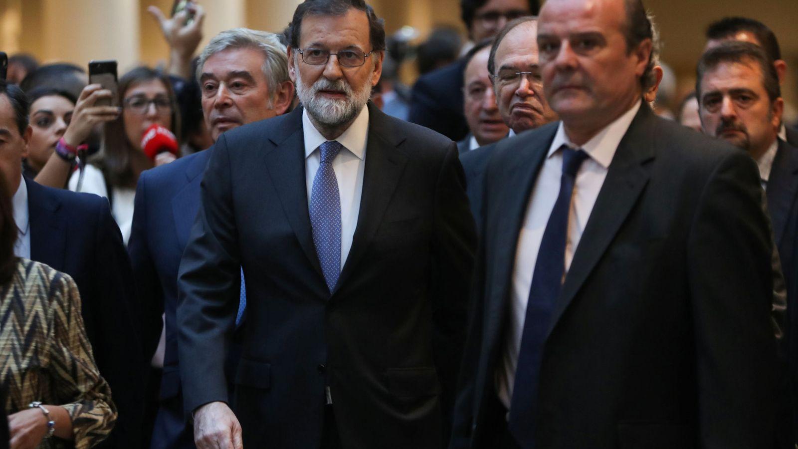 Foto: Rajoy en el Senado (REUTERS)