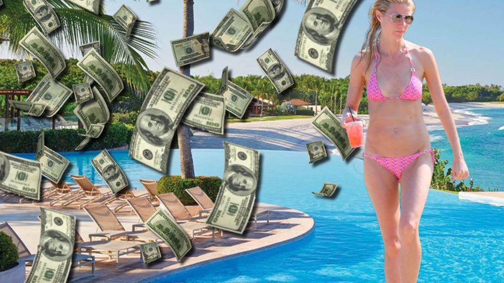 Gwyneth Paltrow y sus millonarias vacaciones con su novio, Brad Falchuk
