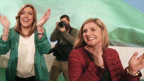 Díaz se pone flamenca y celebra la Arcadia feliz de Andalucía antes de irse a Madrid