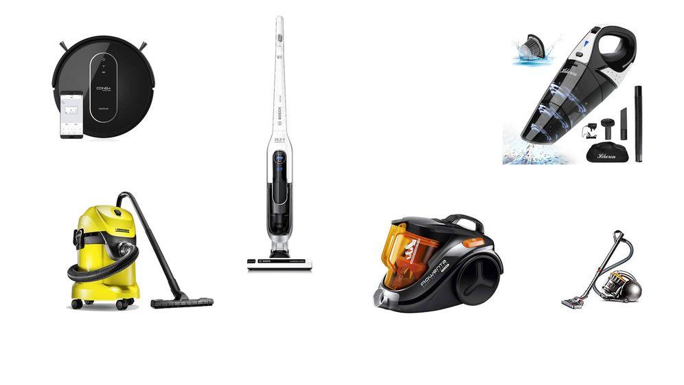 Foto: Los mejores aspiradores para limpiar tu casa