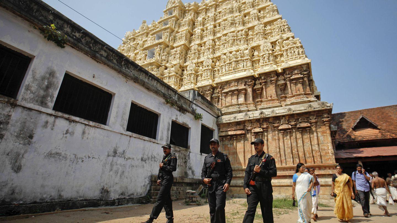 El templo hoy es uno de los lugares mejor custodiados del país. (Reuters)