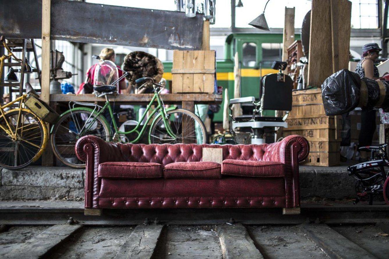 Foto: De inspiración 'vintage', un mercadillo original (Foto: Mercado de Motores)