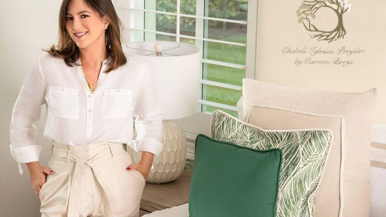 Imagen de Chábeli Iglesias en la web de Carmen Borja.