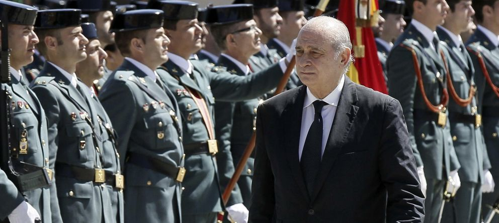 Foto: El ministro de Interior asiste hoy a un acto (Efe)