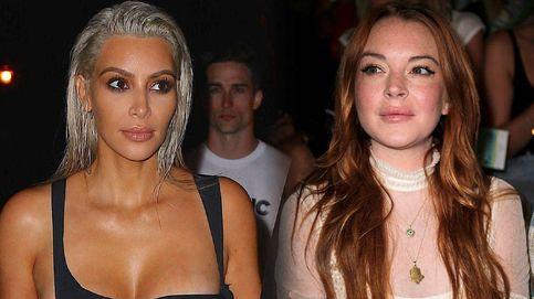 Guerra de 'chicas malas' entre Lindsay Lohan y Kim Kardashian