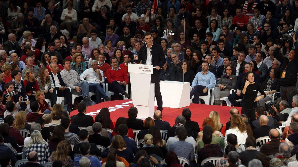 Sánchez se da un chute de autoestima y pide parar el frente anti-PSOE