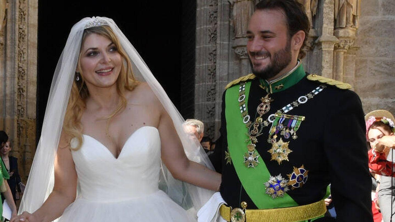 Francisco de Borbón y Sophie Elizabeth Karoly. (Gtres)