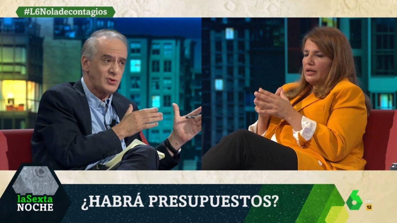 Ignacio Cembrero y Claver, en 'La Sexta noche'. (Atresmedia).
