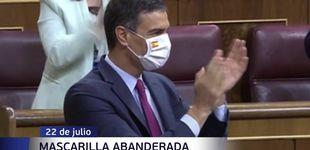 Post de Mascarillas y corbatas: las nuevas pancartas de la política española