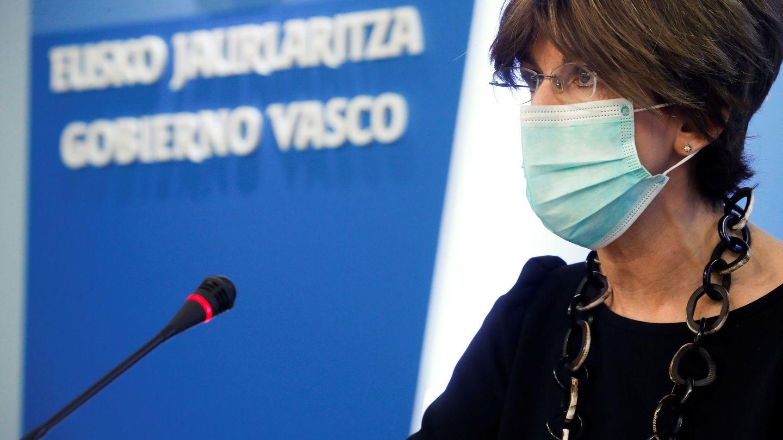 La consejera de Salud del Gobierno Vasco, Nekane Murga. (EFE)