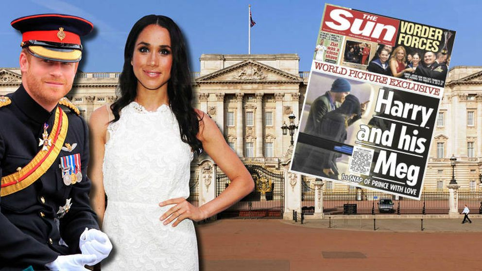 'The Sun' publica la primera imagen del príncipe Harry y Meghan Markle juntos