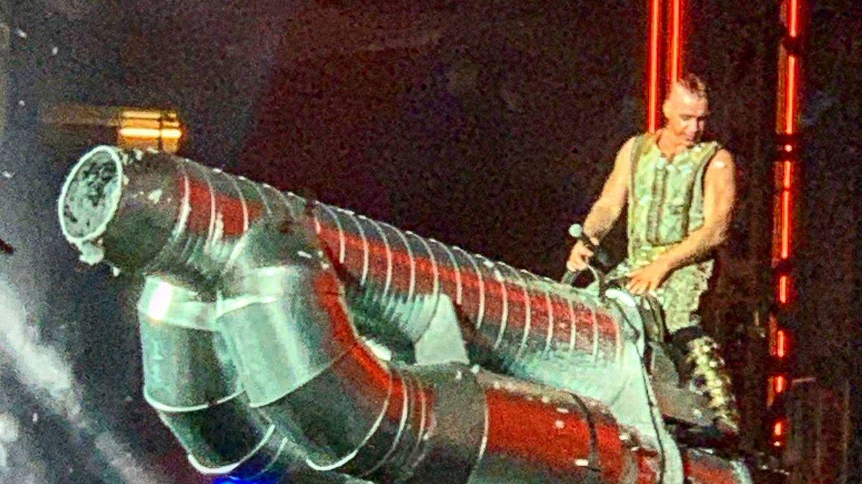 Foto: Un momento del concierto de Rammstein en Barcelona.