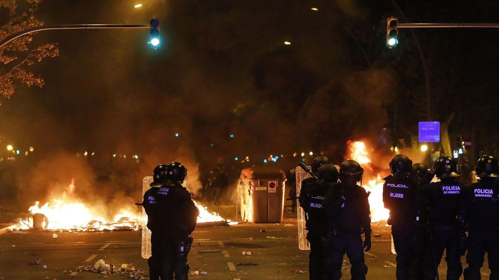 Libertad provisional para 5 detenidos durante los disturbios en Barcelona