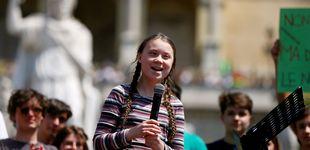 Post de Greta viajará de Londres a NY en el barco de Pierre Casiraghi para intervenir en la ONU