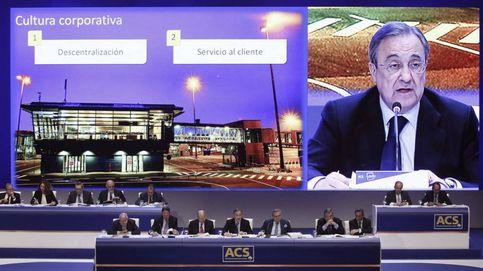 Florentino Pérez salva 'in extremis' el descafeinado plan de opciones de ACS