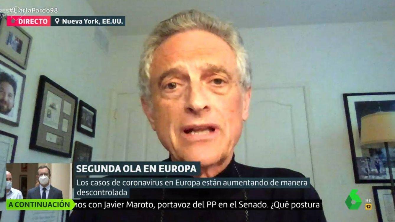 Luis Rojas Marcos y su necesario mensaje optimista de salud mental en La Sexta ante la pandemia de coronavirus