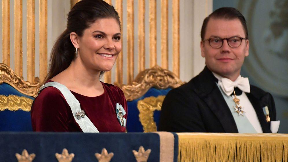 Foto: La princesa Victoria y el príncipe Daniel en una imagen de archivo. (Reuters)