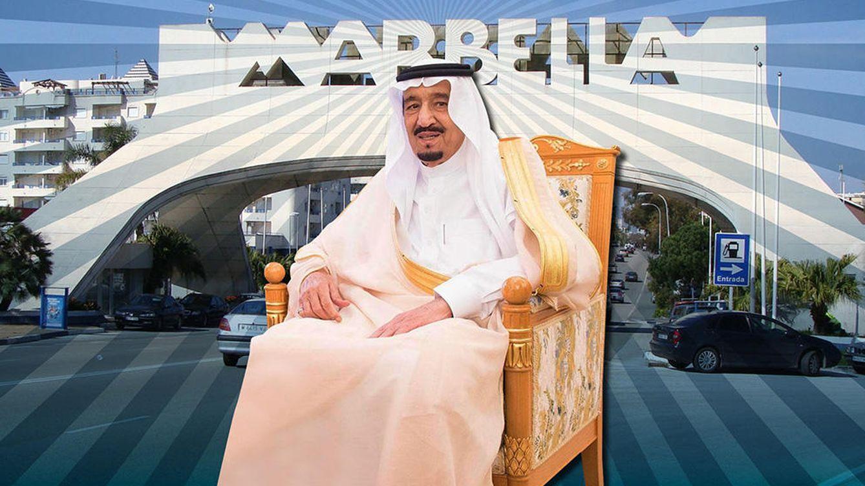 Foto: El rey Salman en un fotomontaje realizado en 'Vanitatis'