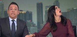 Post de Un terremoto en Los Ángeles siembra el pánico en directo en un plató de TV