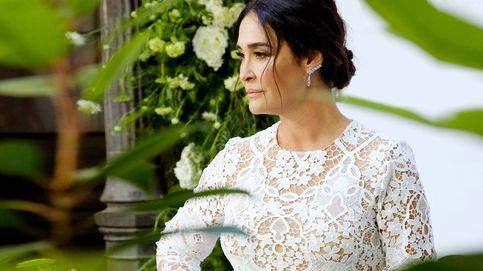 Vicky Martín Berrocal, sexy y sofisticada con un conjunto pijamero de Zara