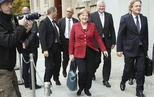 El SPD pactará con Merkel si se fija un salario mínimo de 8,5 euros a la hora