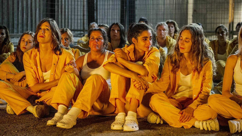 Varias actrices de 'Vis a vis' en su final. (Fox España)